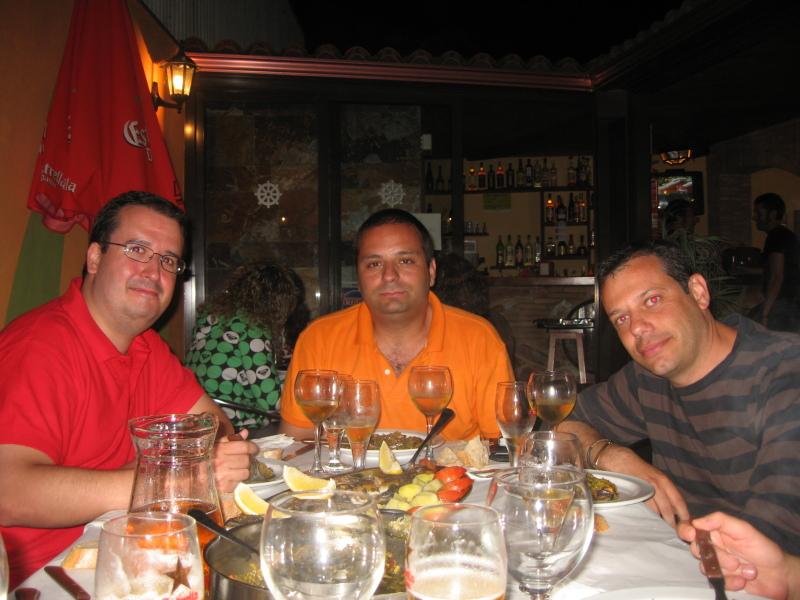 Cenando en Portono