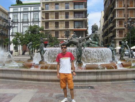 Fuente de Neptuno, Valencia