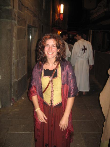 Rocío en la Feira Franca 2008